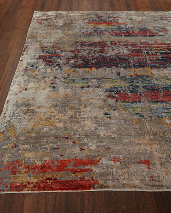 Lhasa Sunset Hand-Knotted Rug