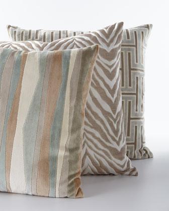 Aroma Zebra Pattern Pillow and Matching Items