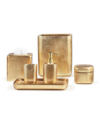 Ava Canister  Gold and Matching Items