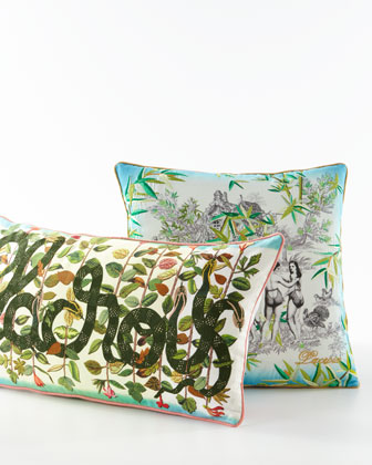 Eden Multicolored Pillow and Matching Items