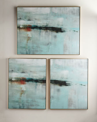 Deep Horizon Giclée Vertical, Set of 2 and Matching Items