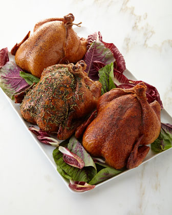 Cured & Smoked Chickens, Set of 2 and Matching Items