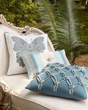 Mariposa Lagoon Pillow, 20
