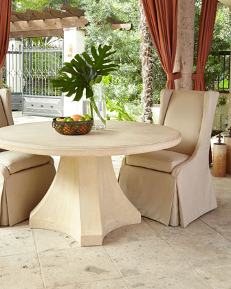 Round Dining Table  and Matching Items