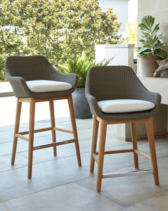 San Remo Outdoor Barstool  30  and Matching Items