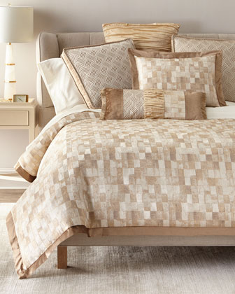 Seville King Duvet with Flange  and Matching Items