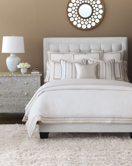 Watermill Taupe Oversized Queen Duvet