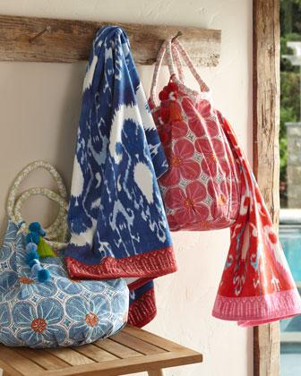 Lita Tote & Vaya Towel, Blue  and Matching Items