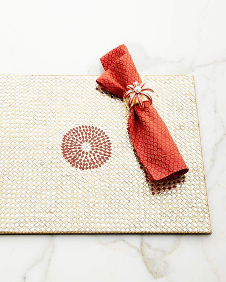 Red Poppies Napkin