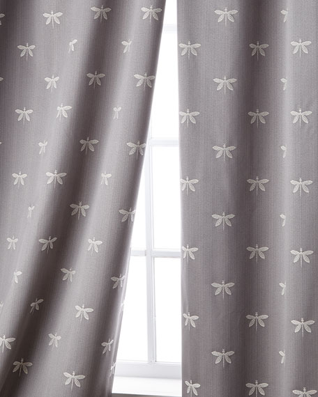 """Imperial Dragonfly Curtain, 96""""L"""