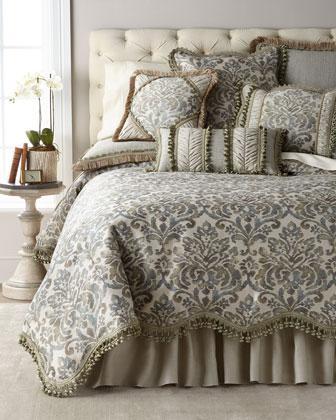 Delany Queen Scallop Duvet  and Matching Items