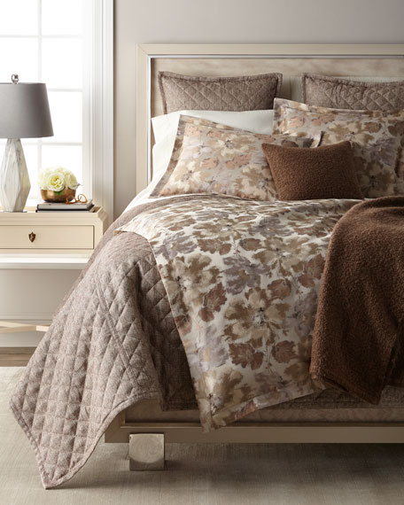 Smokey Floral King Duvet Set