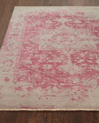 Chazzel Hand-Knotted Rug, 6' x 9'  and Matching Items
