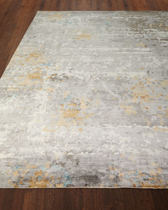 Cobble Hills Hand-Knotted Rug, 6' x 9' and Matching Items