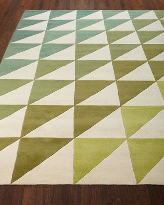 Fun Tiles Hand-Tufted Rug, 5' x 8' and Matching Items