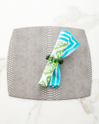 Ethnic Ikat Napkin  and Matching Items