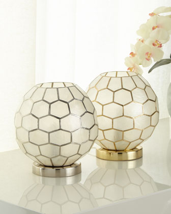 Honeycomb Ambient Light, Silver  and Matching Items