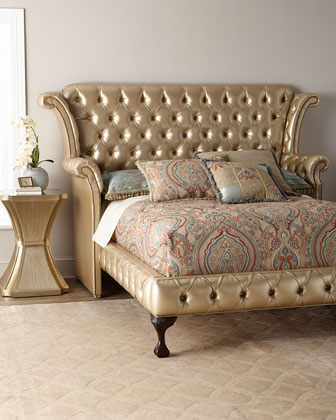 Champagne Carter California King Bed  and Matching Items