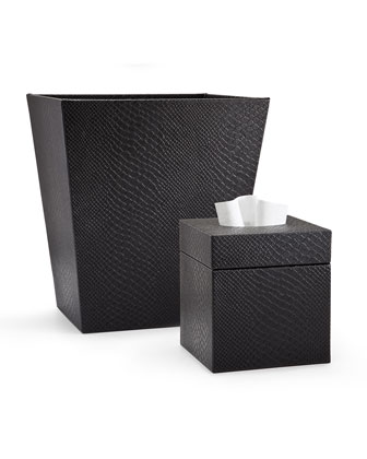 Conda Wastebasket, Black  and Matching Items