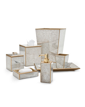 Miraflores Tissue Box Cover, Gold and Matching Items