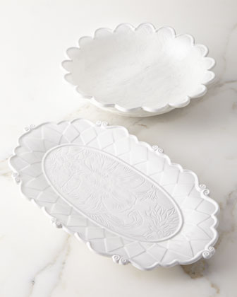 Sweetbriar Platter and Matching Items