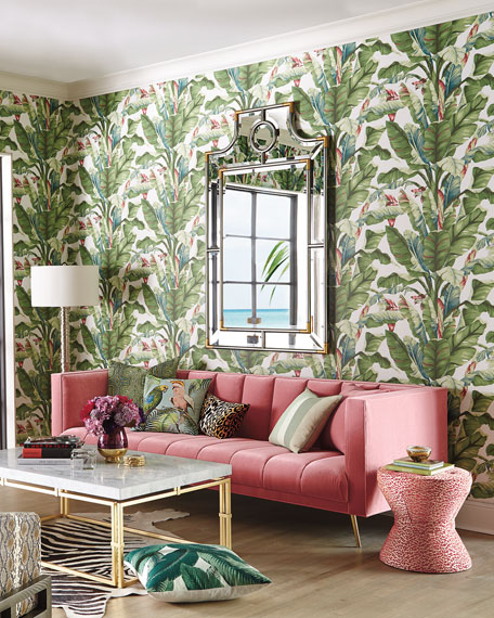 Tropics Decorative Pillow