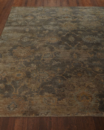 Avani Hand-Knotted Rug, 6' x 9' and Matching Items