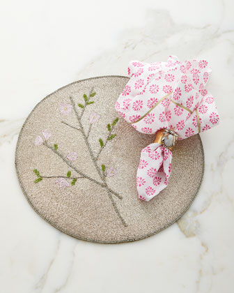 Leaf Dinner Napkins, Set of 2  and Matching Items