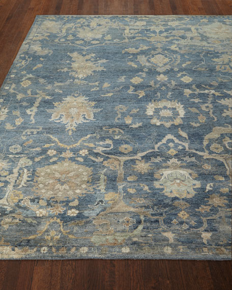 Williamsburg Hand-Knotted Rug, 10' x 14'