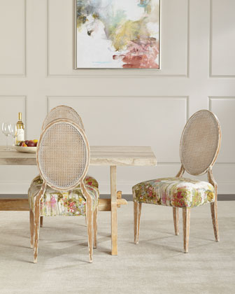 Bacca Stone-Top Dining Table and Matching Items