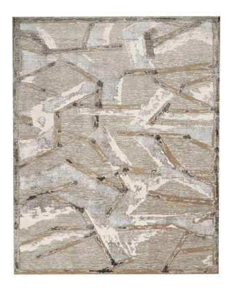 Chemin Misted Morning Hand-Knotted Rug