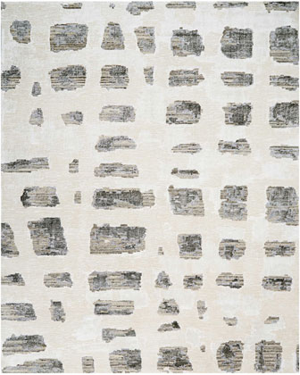 Misted Morning Hand-Knotted Rug  8' x 10'  and Matching Items