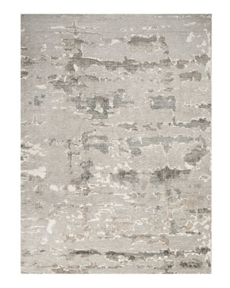 Aquarelle Natural Truffle Hand-Knotted Rug