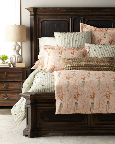 Oiseaux Sateen Full/Queen Duvet Cover