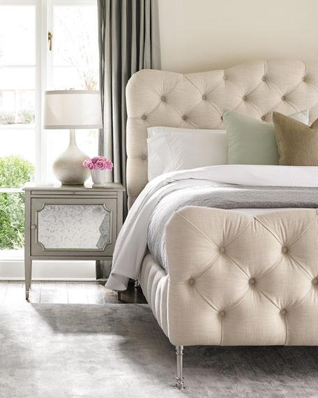 Ashleena Tufted California King Bed