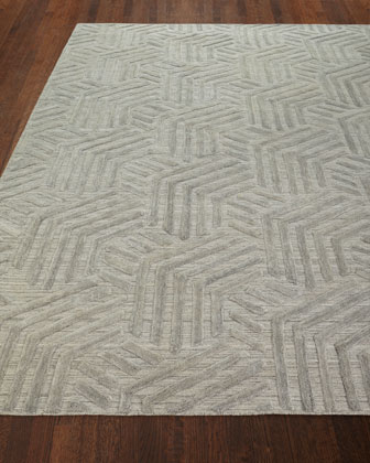 Muriel Hand-Knotted Rug, 5.9' x 8.9'  and Matching Items
