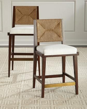 Gabby Upholstered and Jute Counter Stool  and Matching Items