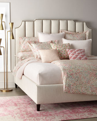 Bayonne Channel Tufted King Bed  and Matching Items
