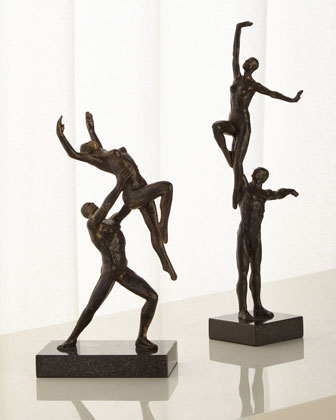 Dancers Right-Arm Lift Sculpture  and Matching Items