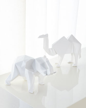 Ceramic Elephant  and Matching Items