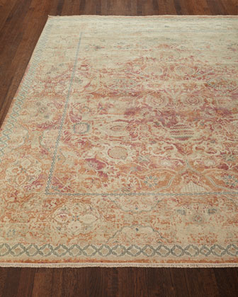 Rai Hand-Knotted Rug  9' x 12' and Matching Items