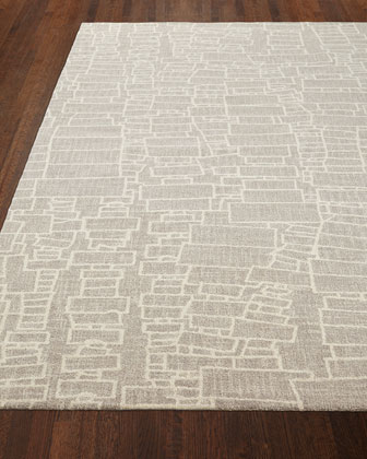 Shel Micro-Hooked Rug, 2.5' x 8' and Matching Items