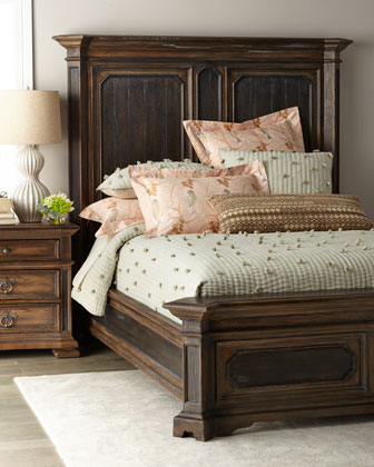 Casella King Mansion Bed  and Matching Items