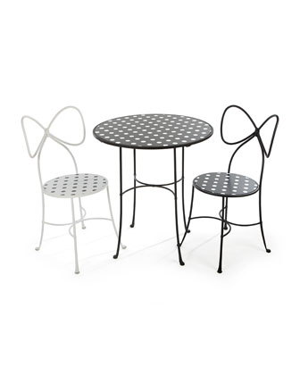 Dot Cafe Table  and Matching Items