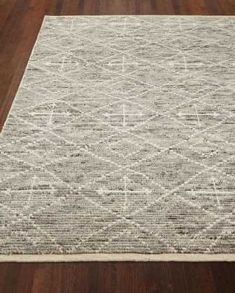 Oscar Hand-Knotted Rug, 8.6' x 11.6'  and Matching Items