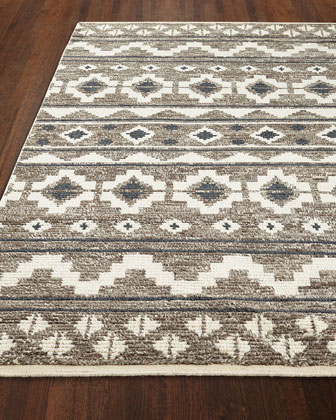 Wilma Hand-Knotted Rug, 7.6' x 9.6'  and Matching Items