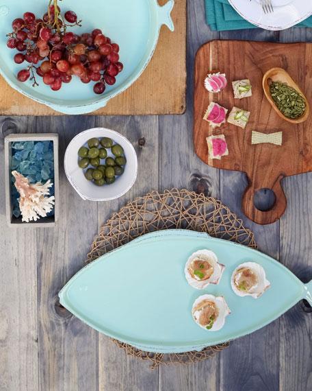 Melamine Lastra Fish Large Oval Platter
