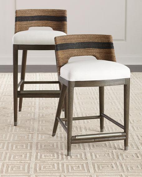 Marvelous Elijah Rope Bar Stool Pabps2019 Chair Design Images Pabps2019Com