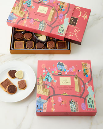 Wonderful City of Dreams 32-Piece Biscuit Collection  and Matching Items