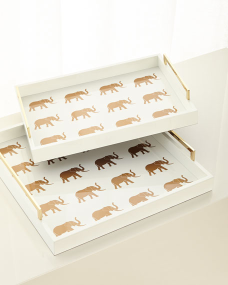 Meru Elephant Small Tray
